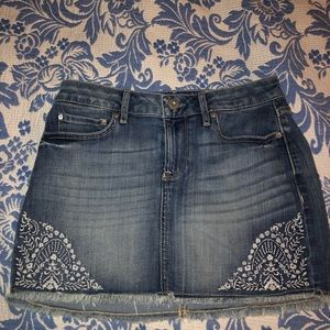 american rag denim skirt. new without tags.